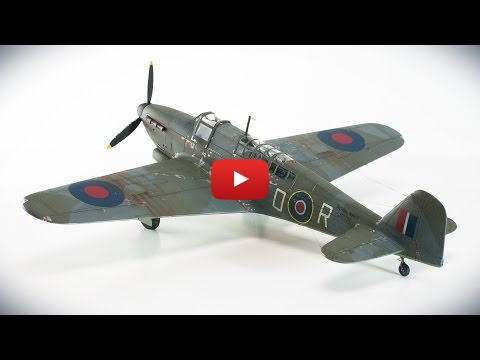 Embedded thumbnail for Stop Motion - Fulmar Mk.II by Special Hobby in 1-48