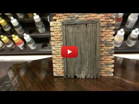 Embedded thumbnail for Diorama World - Weathering Door And Door Frame