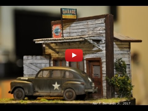 Embedded thumbnail for Ole 1942 US Staff Car Diorama Build