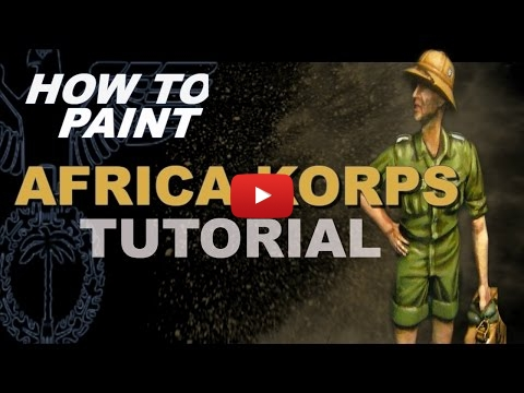 Embedded thumbnail for Figures - How to Paint 1-35 German Africa Korps