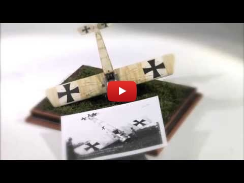 Embedded thumbnail for StopMotion - Eduard 1-48 Fokker E-III 1/48