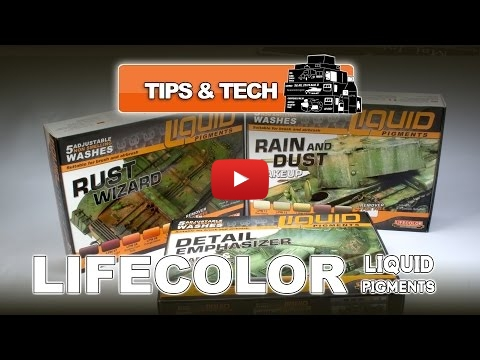 Embedded thumbnail for Lifecolor Liquid Pigments - Review and HowTo