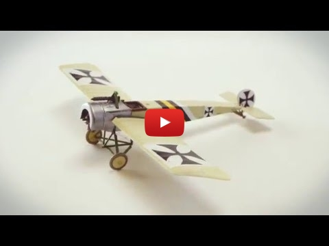 Embedded thumbnail for Stop Motion Masterworks - Fokker EII  Eindecker 1-72