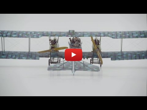 Embedded thumbnail for Stop Motion Magic - Roden Gotha G.V. Night Bomber 1-72