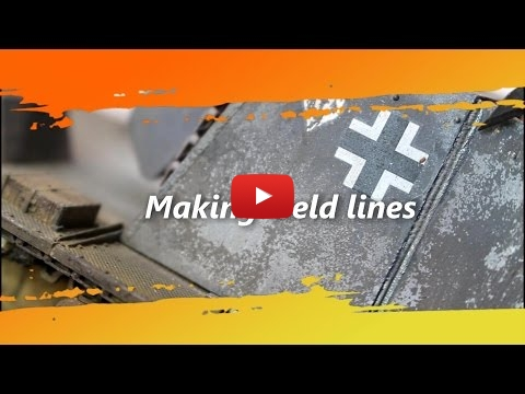 Embedded thumbnail for Advanced Tips - Making weld line on scale model