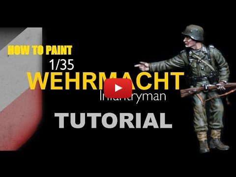 Embedded thumbnail for How To Paint 1/35 German World War Two Infantry