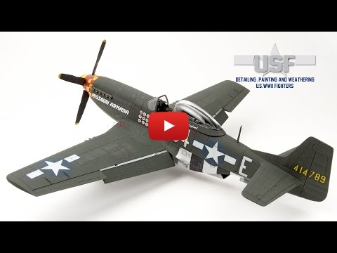 Embedded thumbnail for Detailing, Painting and Weathering U.S. WWII Fighters