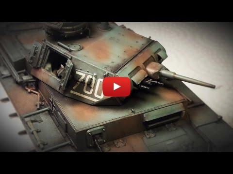 Embedded thumbnail for Advanced Tips - Oil Weathering Effects for Panzer Grey