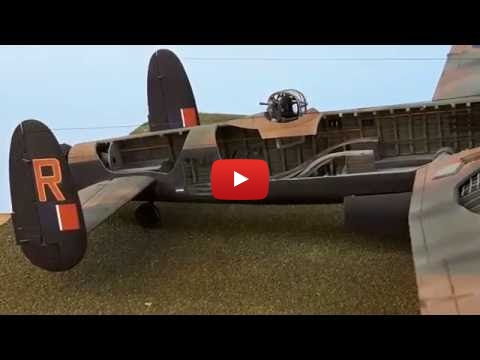 Embedded thumbnail for Final Reveal - Lancaster Mk III Interior Cutaway