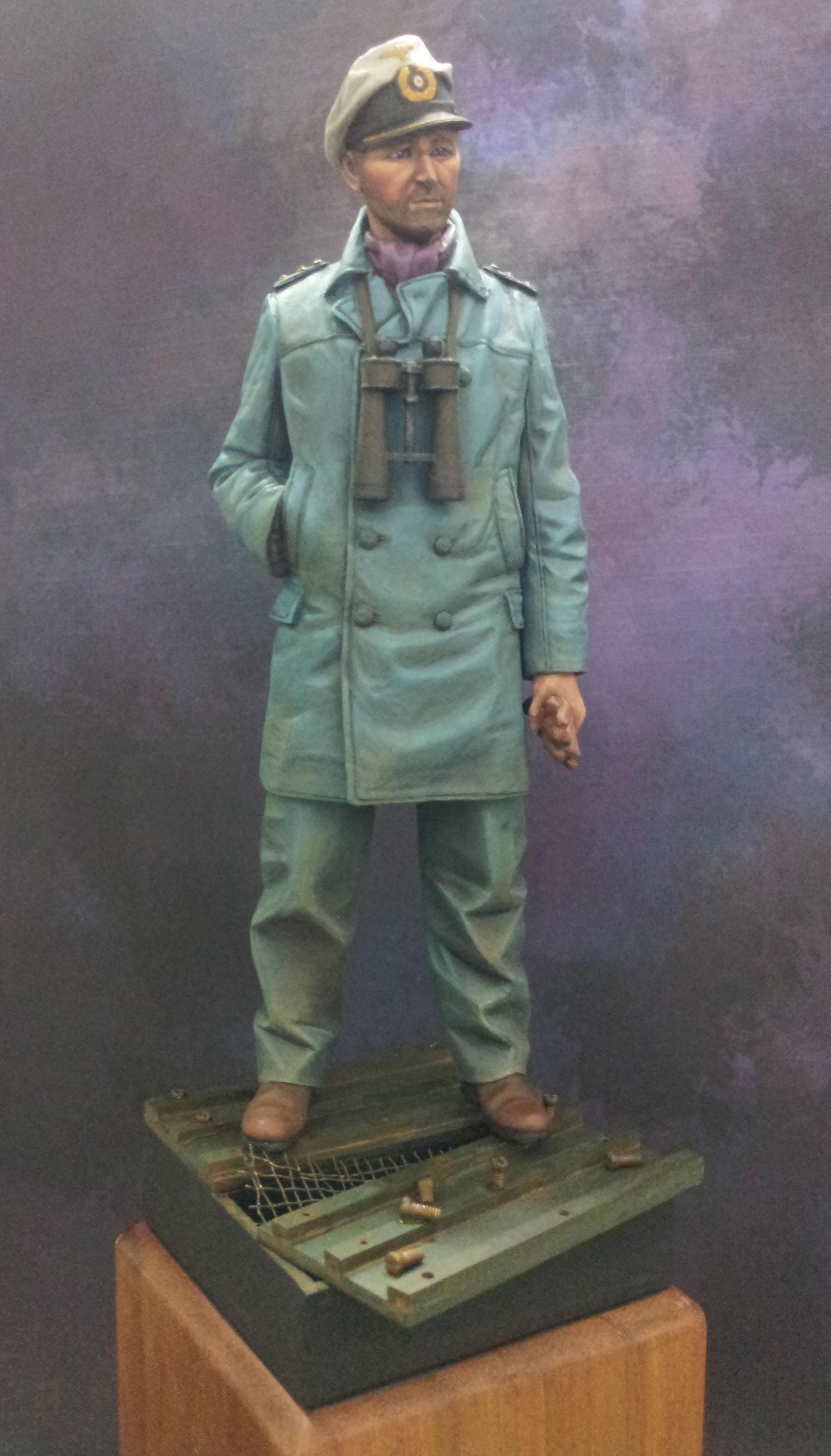 German U-Boat Captain, by Alpine Miniatures 1/16   Plastic ...